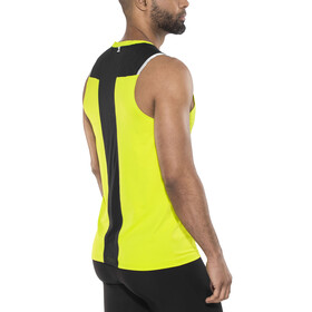 Odlo Zeroweight Ceramicool BL Top Crew Neck Tank Men acid lime-black
